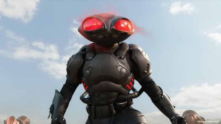 Image result for aquaman movie screenshots black manta