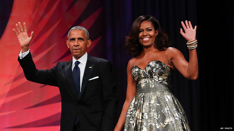 Obamas To Adapt Book Critical of the Trump Administration for Netflix