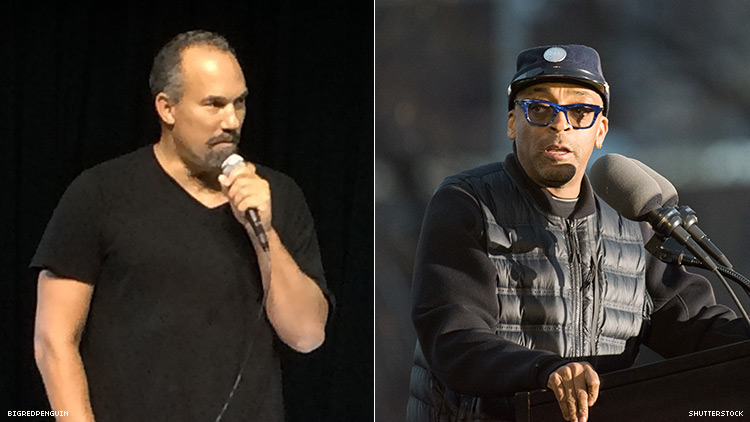Roger Guenveur Smith and Spike Lee