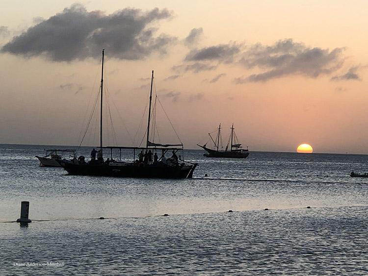 Aruba At Sunset Diane