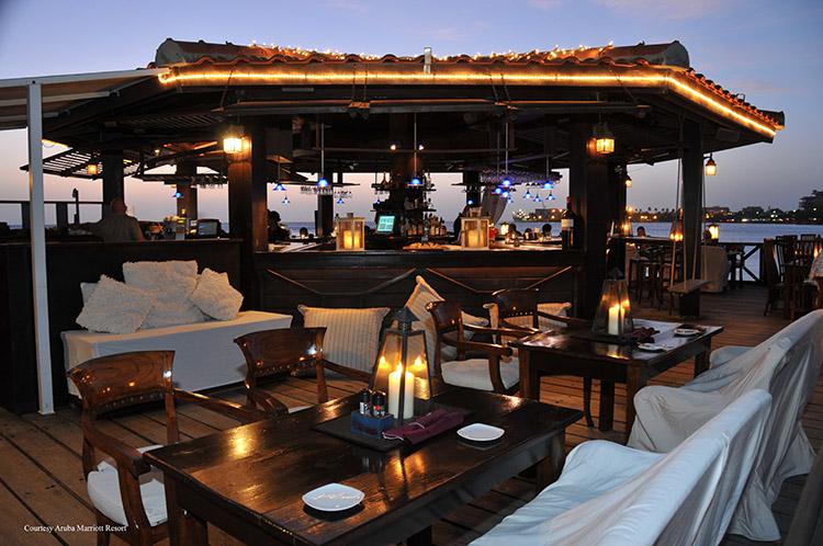 Pinchos Courtesy Of Aruba Marriott Resort