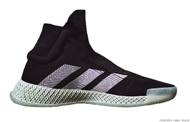 Adidas FUTURECRAFT 4D Laceless Basketball Sneaker