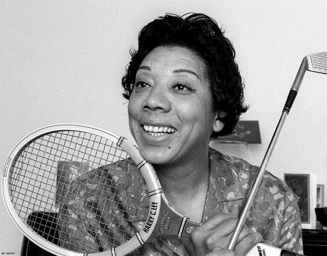 ALTHEA GIBSON: First Black Tennis Player to Win Wimbledon