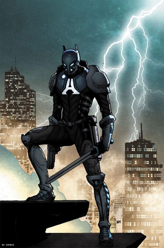 Artist Doug Mahnke's Arkham Knight Variant.