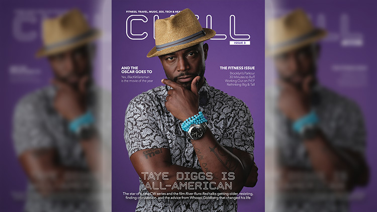 Chill Issue 3, Taye Diggs