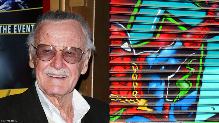 """""""Spider-Man Could Be Anyone"""" Stan Lee 1922-2018"""