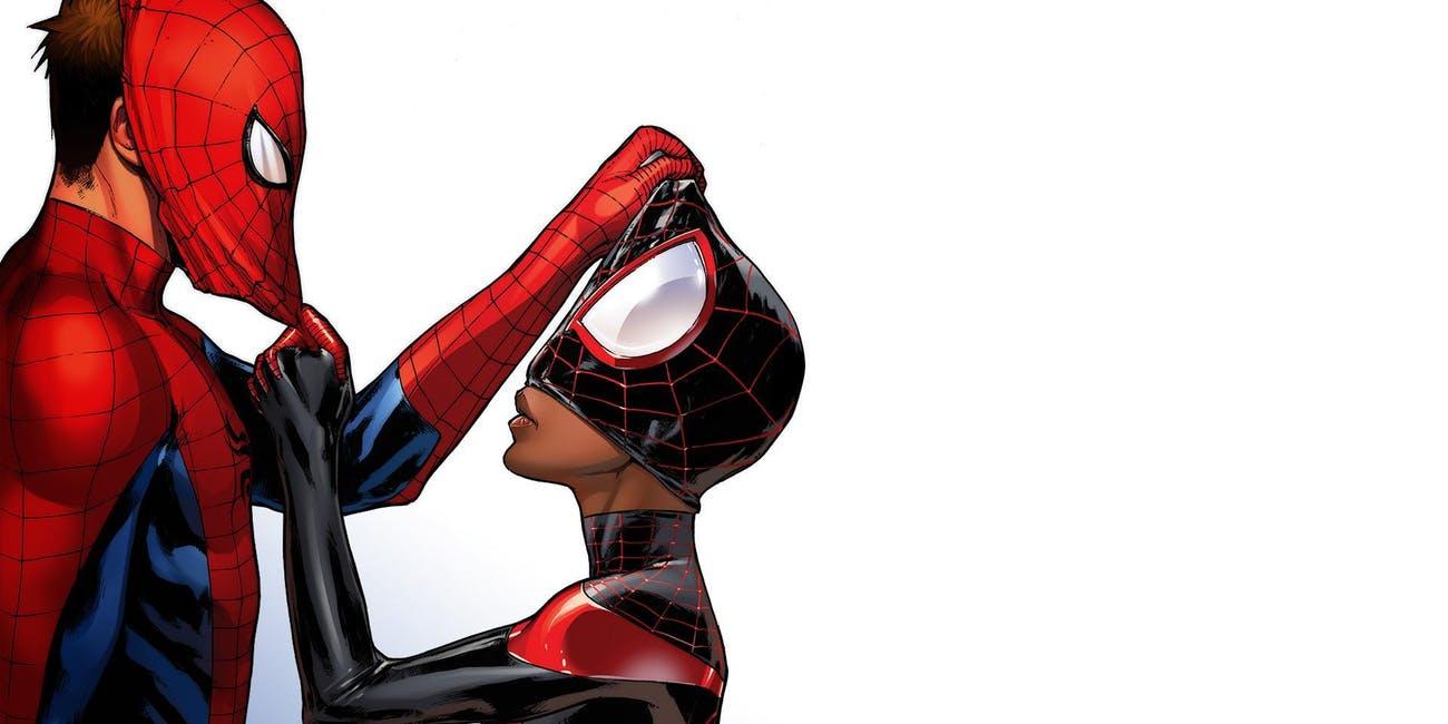 Spider Man Miles Morales Peter Parker