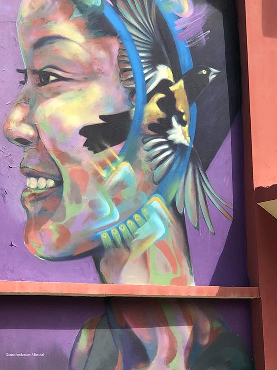 Carnival Mural Diane