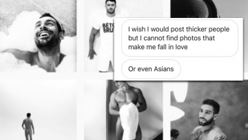 Only Fit White Men Are Beautiful—Or So This Popular Gay Instagram Account Believes