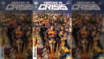 'Heroes In Crisis' and New Issue of 'Watchmen' Sequel Released