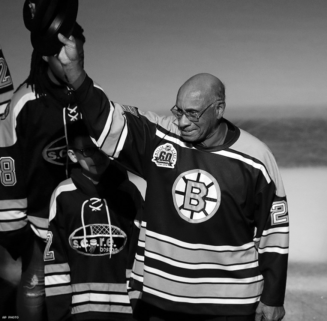 WILLIE O'REE: First Black Professional National Hockey League Player