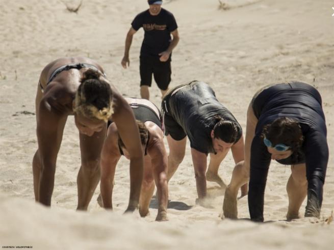 Log Lifting and Sand Dune Running